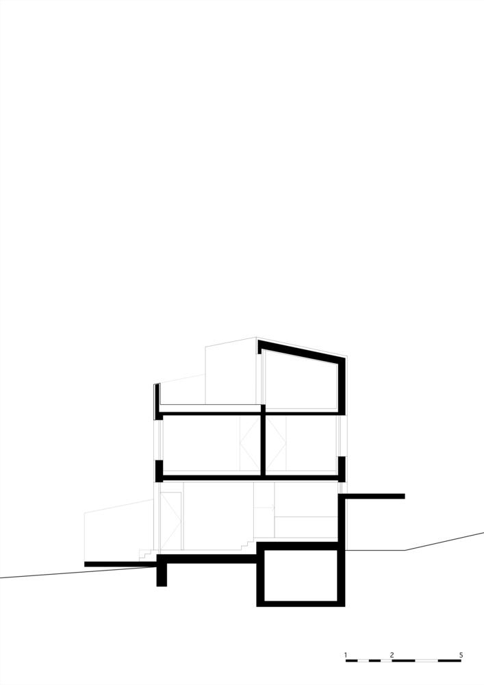 奥地利山坡上的复式住宅_15