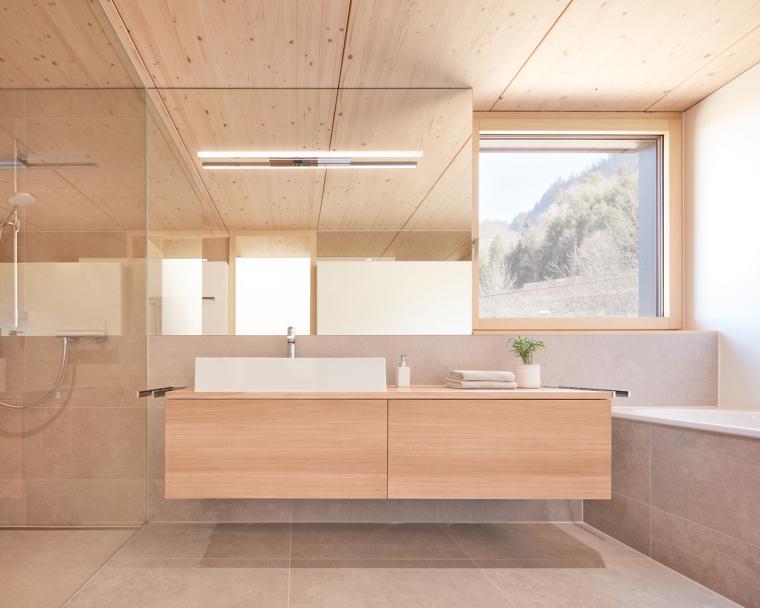 奥地利山坡上的复式住宅_10