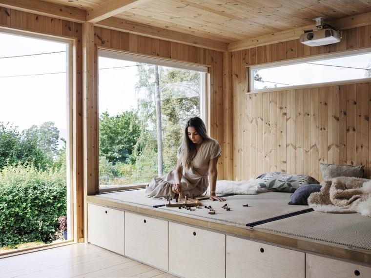 挪威木板盒式住宅