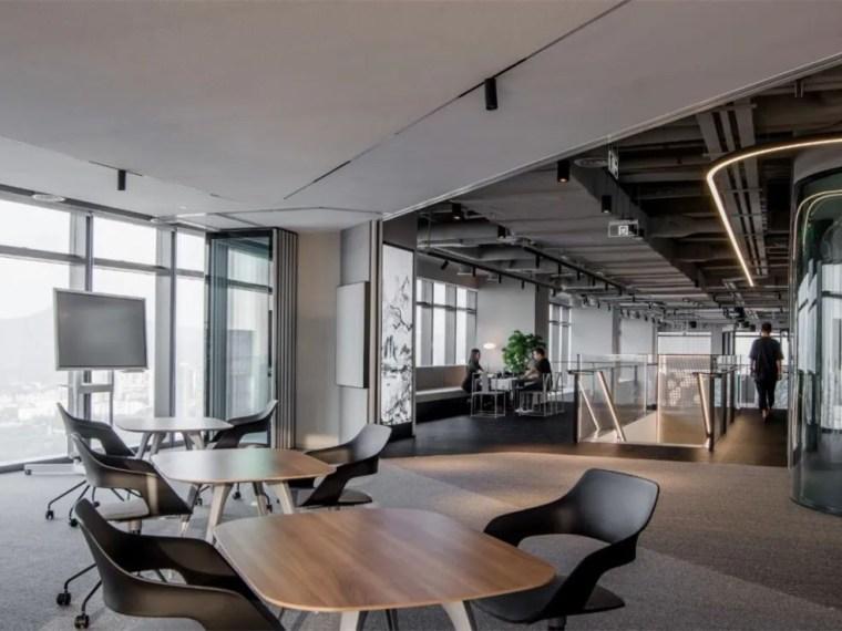 深圳某知名国际咨询公司数字中心办公空间