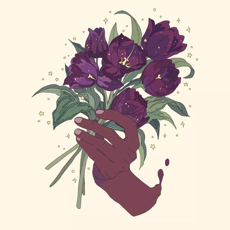 呐,送你一束最美的花!_8