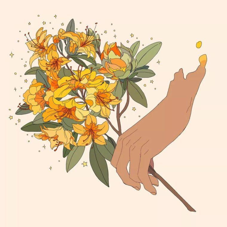 呐,送你一束最美的花!_7