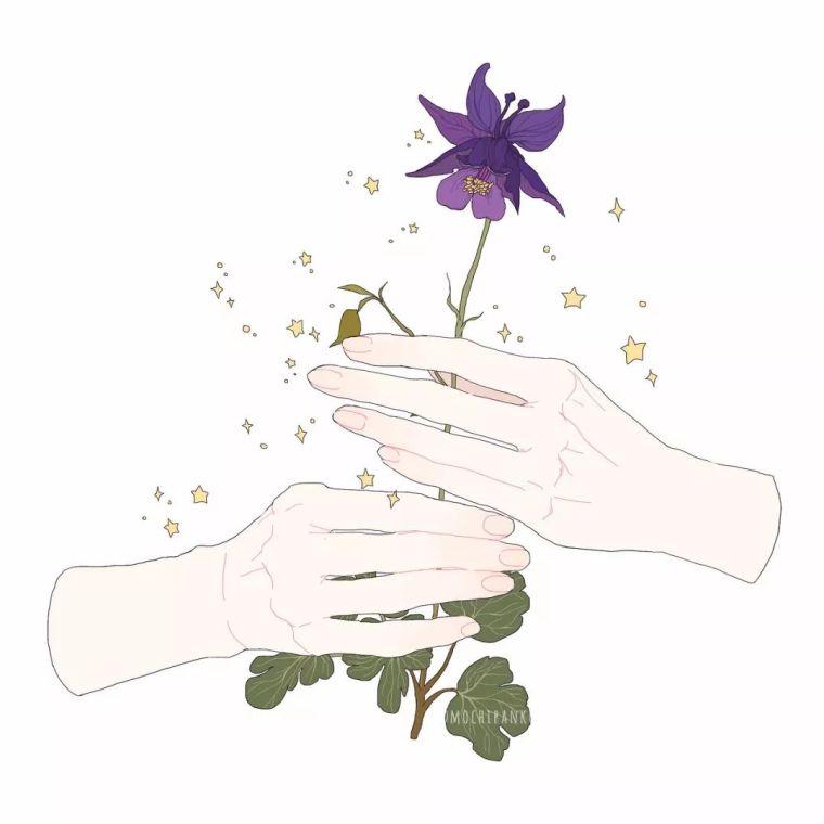 呐,送你一束最美的花!_9