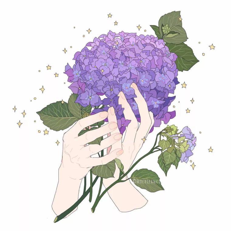 呐,送你一束最美的花!_10