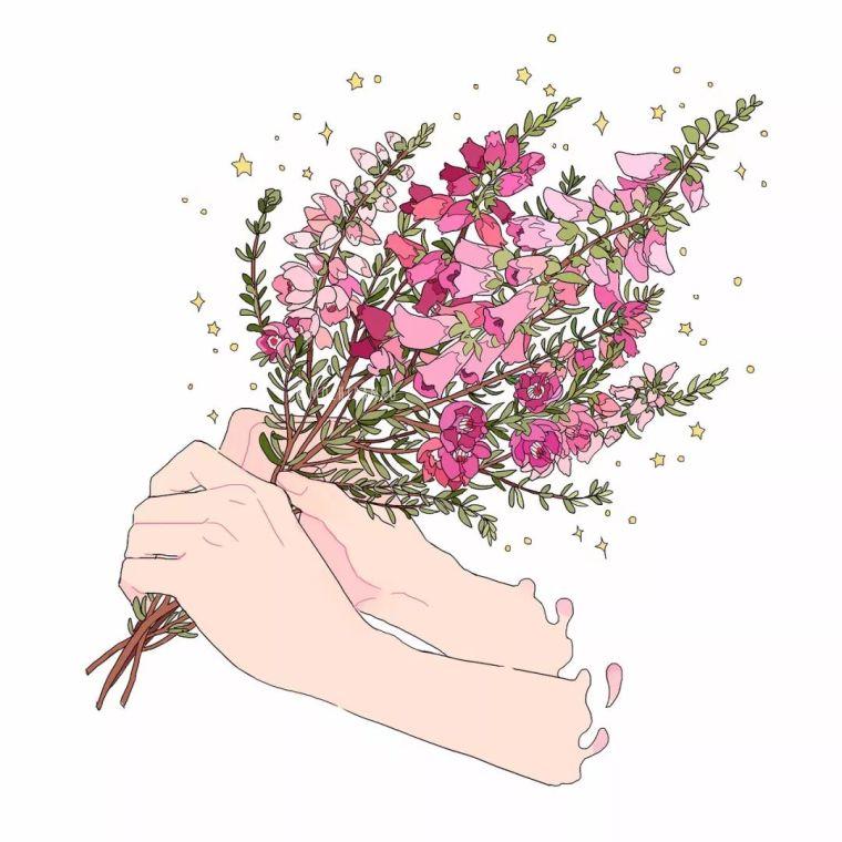 呐,送你一束最美的花!_13