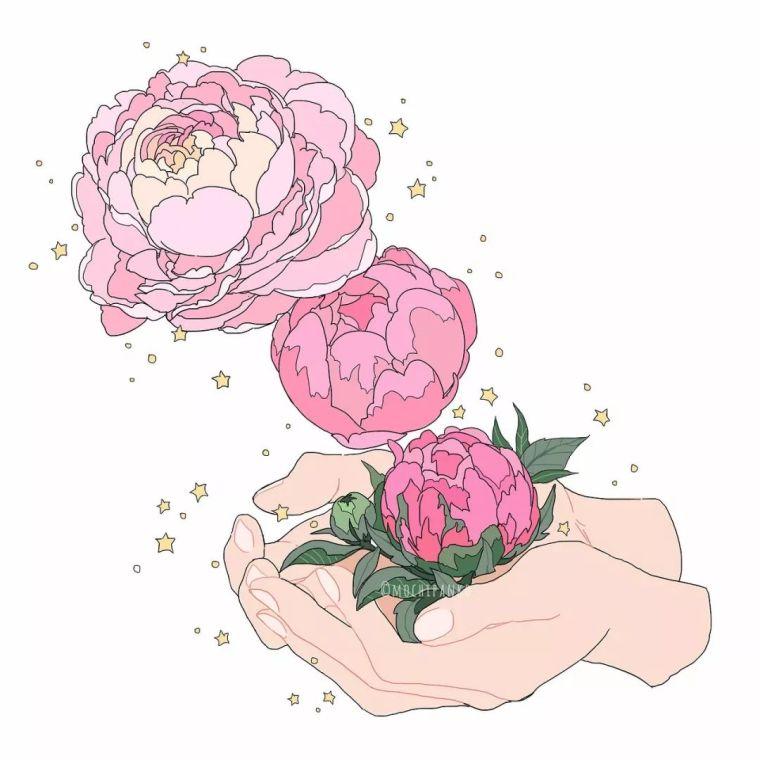 呐,送你一束最美的花!_14