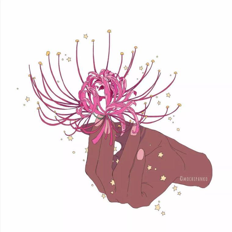 呐,送你一束最美的花!_18