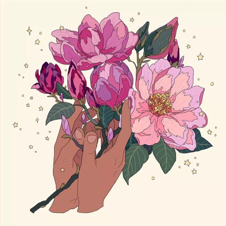 呐,送你一束最美的花!_19