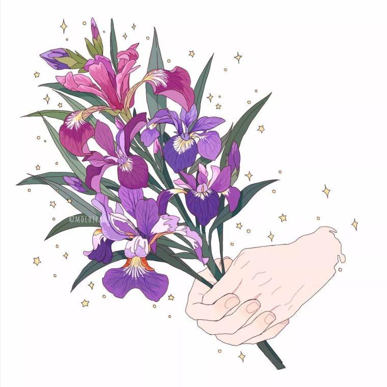 呐,送你一束最美的花!_21