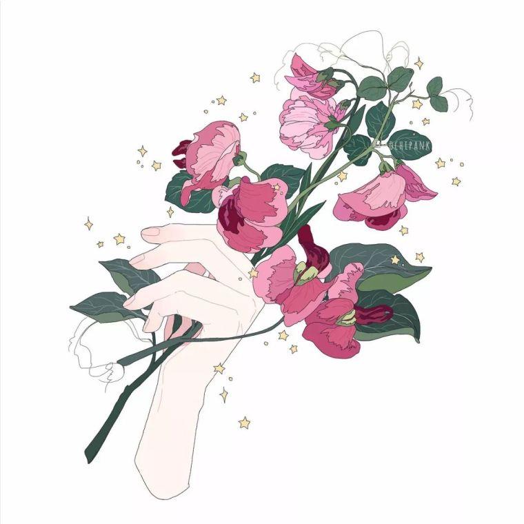呐,送你一束最美的花!_22