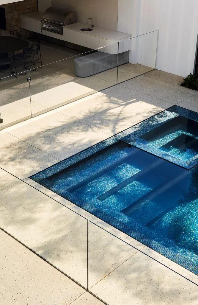 超开放设计+无边泳池,极简别墅真是绝了!_29