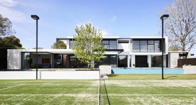 超开放设计+无边泳池,极简别墅真是绝了!_1