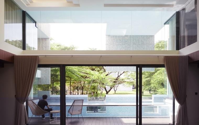 印尼自然采光实验性住宅/RAD+ar_4