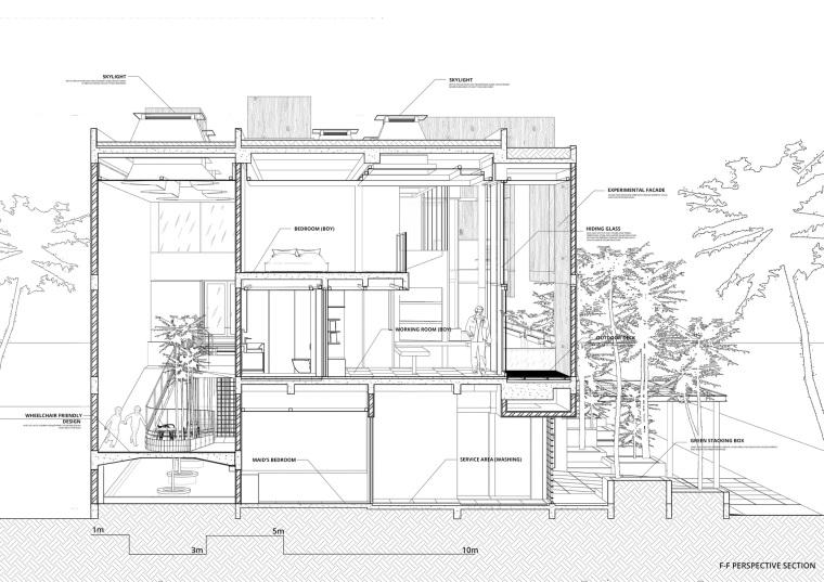 印尼自然采光实验性住宅/RAD+ar-m8 _section_e.jpg