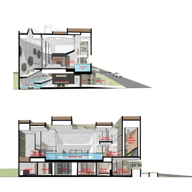 印尼自然采光实验性住宅/RAD+ar-m90 _section_f_diagram.jpg
