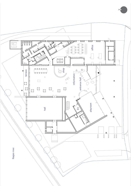 Librio行桥:扭转与堆叠/三上建筑事务所-m1 1st floor plan.jpg