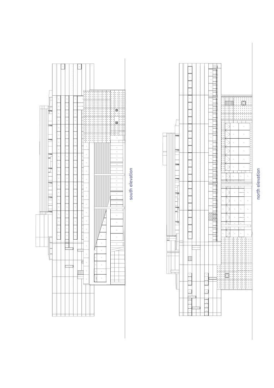Librio行桥:扭转与堆叠/三上建筑事务所-m5 elevation.jpg