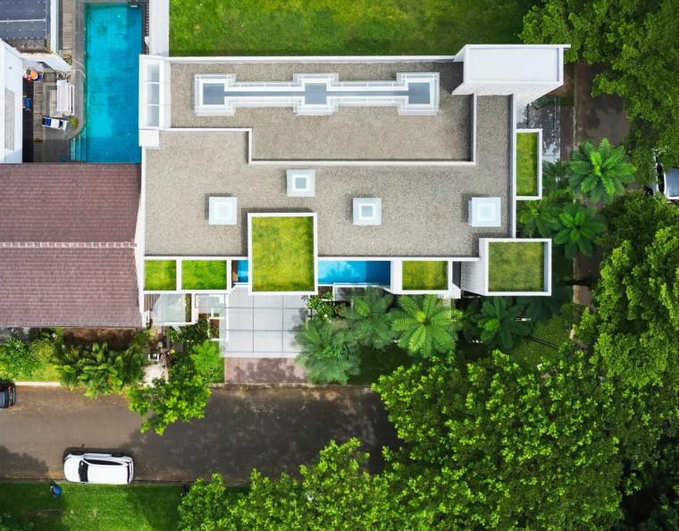 印尼自然采光实验性住宅/RAD+ar_6