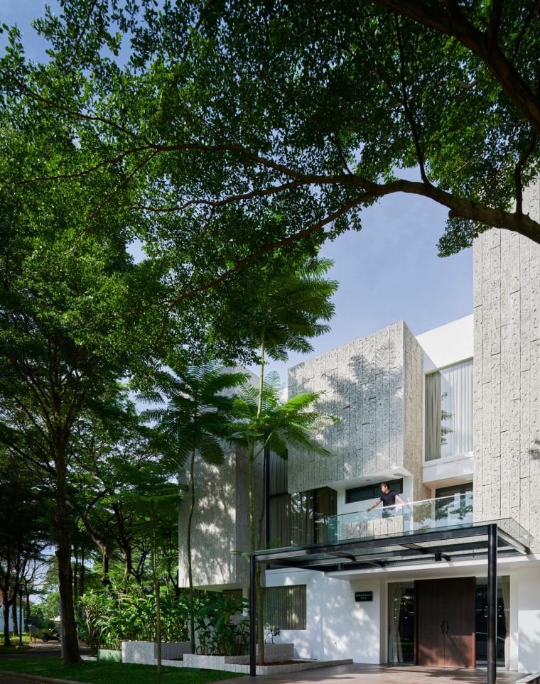 印尼自然采光实验性住宅/RAD+ar_9