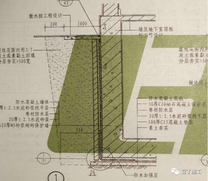 26个节点施工图,基础防水施工难不住你!_5