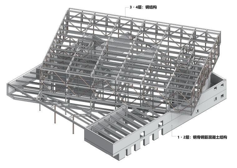 Librio行桥:扭转与堆叠/三上建筑事务所-m90 pic3_structure_调整大小.jpg
