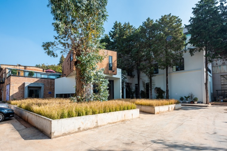 长空创作办公楼:农耕自然般的静谧与优雅-e1.jpg