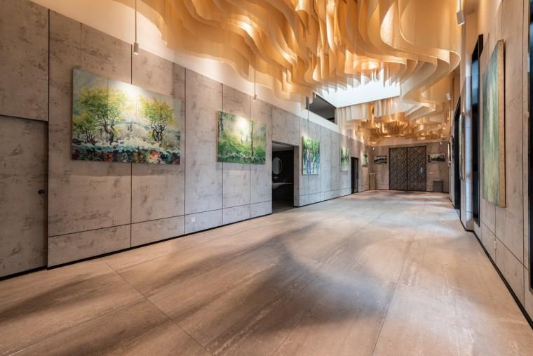 长空创作办公楼:农耕自然般的静谧与优雅_6