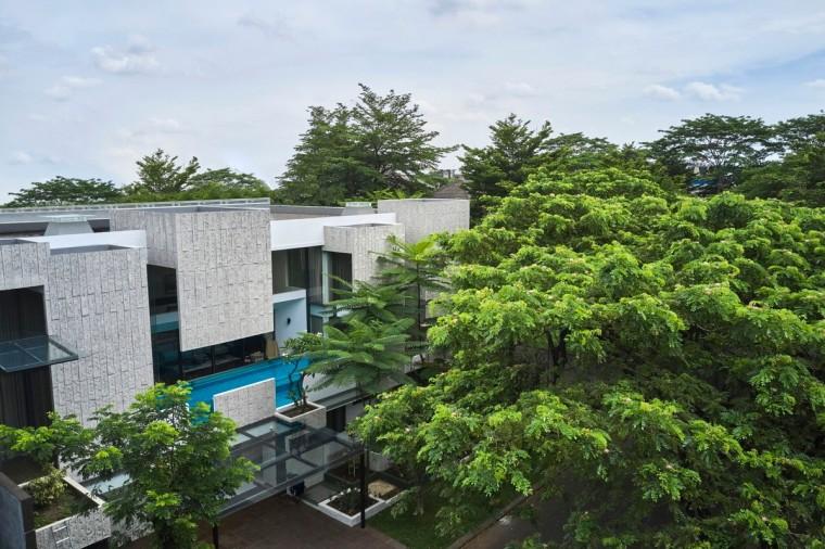 印尼自然采光实验性住宅/RAD+ar_1