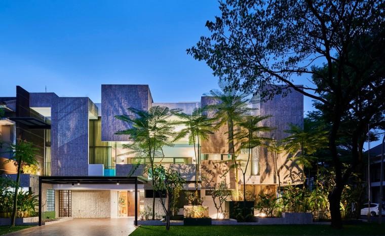 印尼自然采光实验性住宅/RAD+ar_11