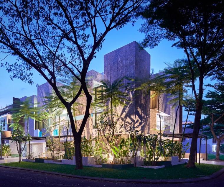 印尼自然采光实验性住宅/RAD+ar_12