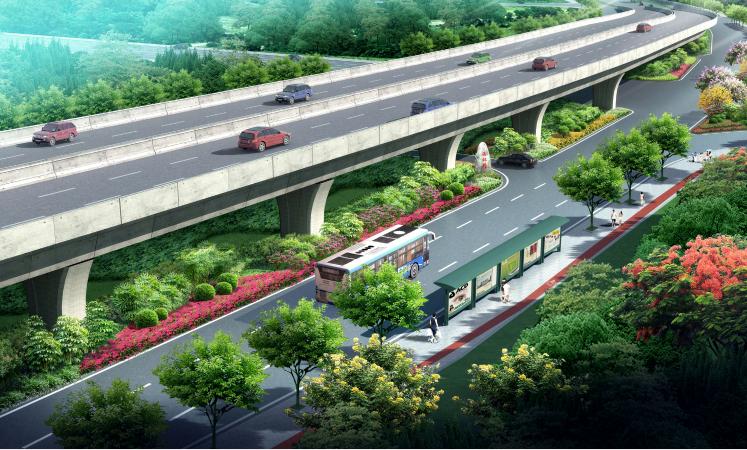 [福建]城市主干道绿化带景观设计方案_1