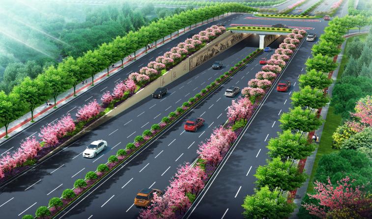 [福建]城市主干道绿化带景观设计方案_2