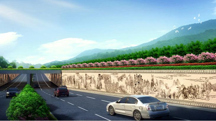 [福建]城市主干道绿化带景观设计方案_3