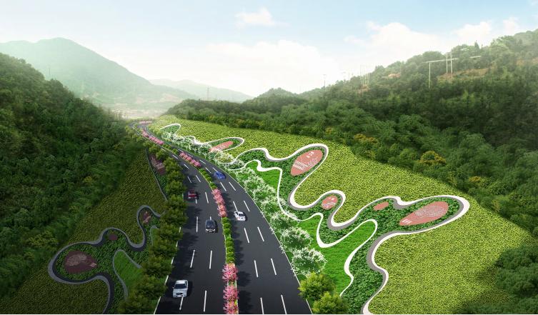 [福建]城市主干道绿化带景观设计方案_4