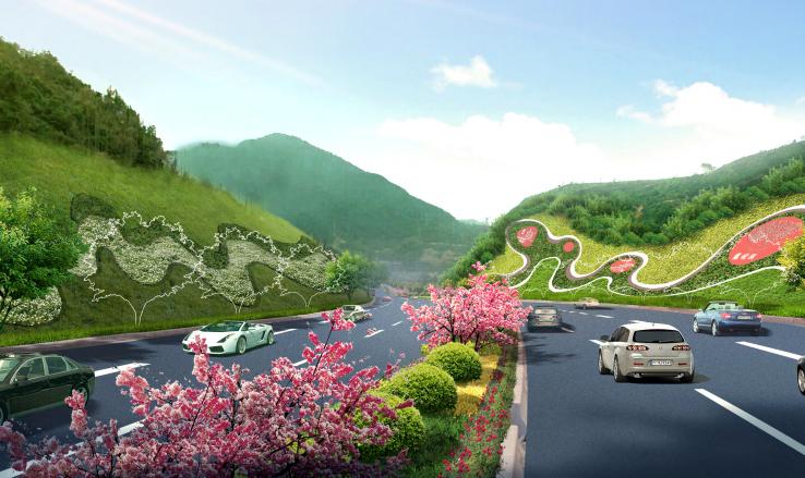 [福建]城市主干道绿化带景观设计方案_5