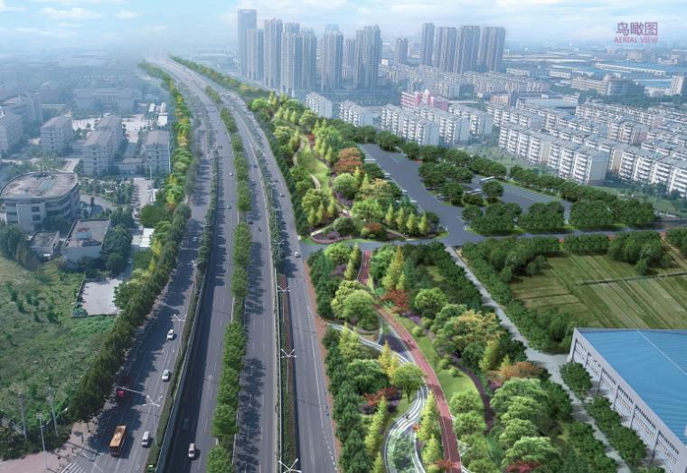 [合肥]城市绿色长廊景观大道升级设计方案_1
