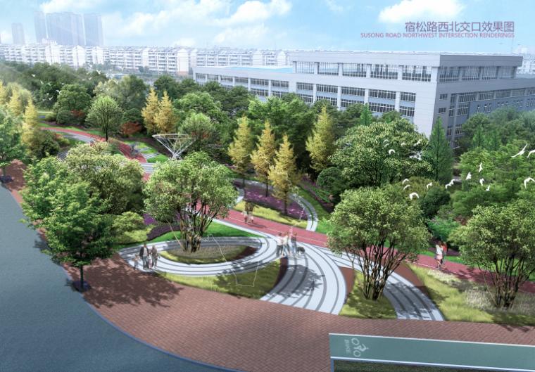 [合肥]城市绿色长廊景观大道升级设计方案_2