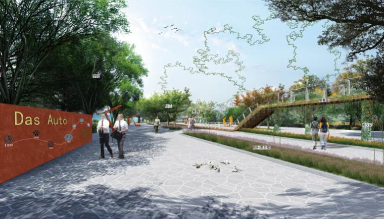 [长沙]城市交通干道及雨水花园景观设计_2