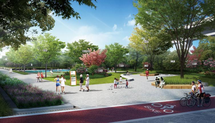 [长沙]城市交通干道及雨水花园景观设计_3