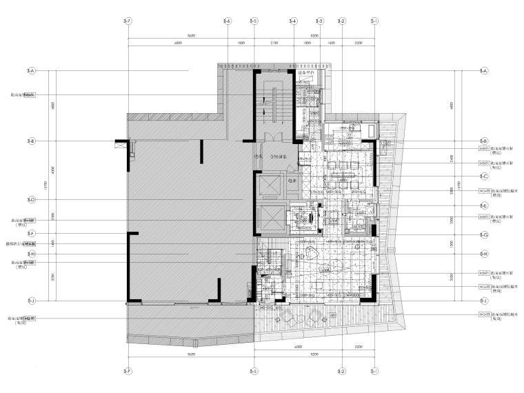 [深圳]九榕台185㎡二居室复式样板间施工图_2
