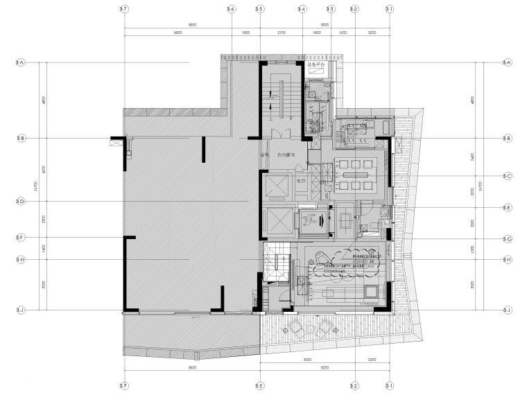 [深圳]九榕台185㎡二居室复式样板间施工图_5