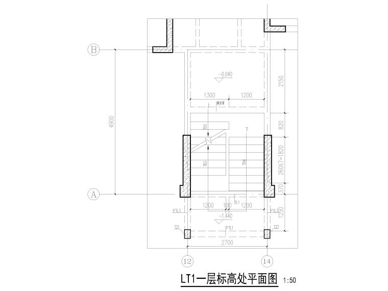 [四川]18层剪力墙结构商业住宅结施图2018_6