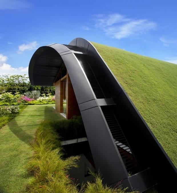 景观设计中超赞的屋顶花园!_15