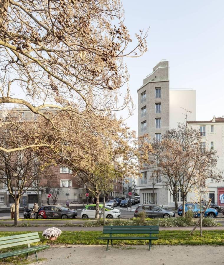 巴黎的公寓楼_2