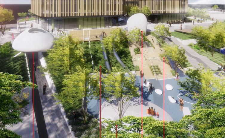 [武汉]名企商业文化休闲广场景观设计方案_1