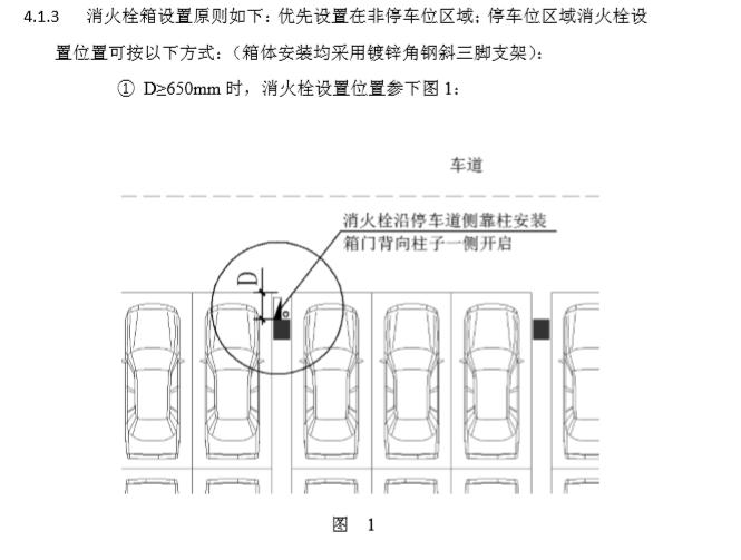 住宅小区地下车库设计要求及标准_6