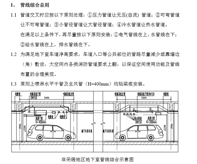 住宅小区地下车库设计要求及标准_5