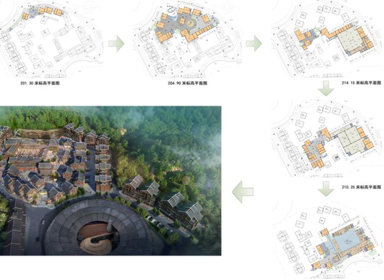 广西百家宴民俗旅游及商业街建筑方案设计_13