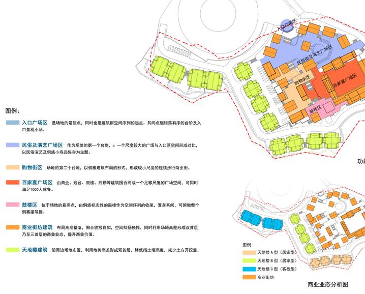 广西百家宴民俗旅游及商业街建筑方案设计_9