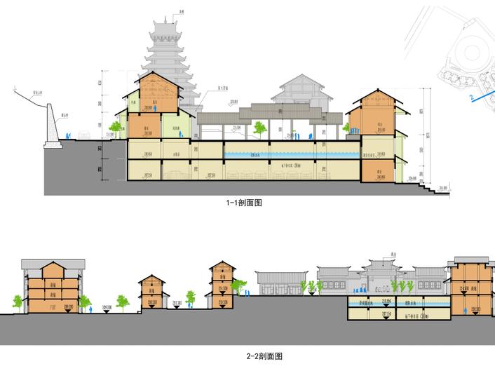 广西百家宴民俗旅游及商业街建筑方案设计_10